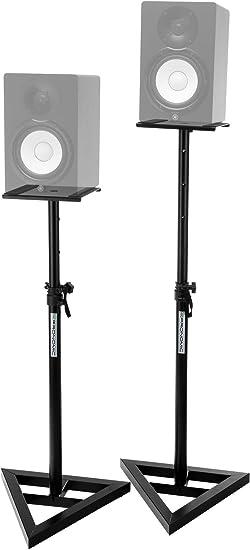 Pronomic SLS-10 pareja de soportes de altavoz para monitor de estudio: Amazon.es: Instrumentos musicales