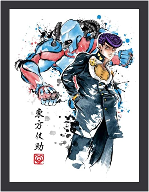 Amazon Com Ddhhyy Higashikata Josuke Crazy Diamond Jojo S Bizarre Adventure Home Wood Framework Art Prints Wall Decor Photos Posters Prints Crazy diamond(クレイジー・ダイヤモンド,kureijī daiyamondo) is the stand of josuke higashikata, featured in diamond is unbreakable. ddhhyy higashikata josuke crazy diamond jojo s bizarre adventure home wood framework art prints wall decor photos