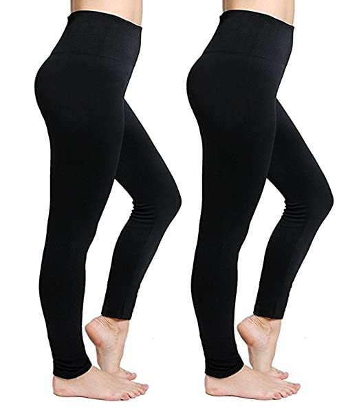 cheap prices super cheap compares to select for clearance Regular/Plus Size Fleece Lined Leggings High Waisted Seamless Leggings Soft  Stretchy Winter Warm Tummy Control Leggings