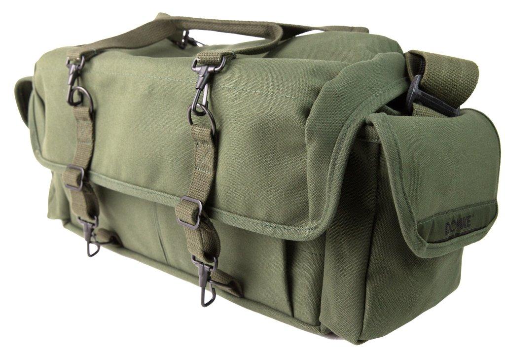 Color Verde Domke 700-10D F-1X Bolsa para c/ámaras de Fotos y Accesorios