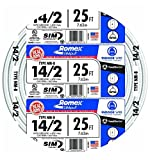Romex 25 Ft. 14/2 Gauge Solid SIMpull NM-B Indoor Residential Electrical Wire