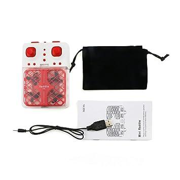 Amazon.es: Heaviesk DHD D3 Mini Quadcopter Micro Pocket Net Drone ...