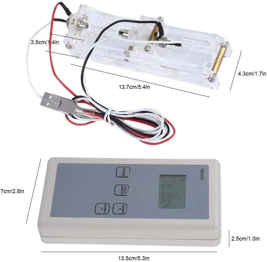Testeur de r/ésistance interne /à 4 fils Li-ion avec haute pr/écision pour batteries au lithium