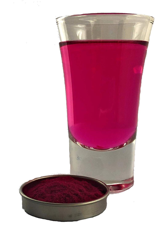 Snowy River Pink Beverage Color - Kosher All Natural Pink Drink Color and Food Color (5g Drink Color)