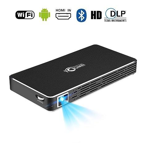 Amazon.com: Mini Projector Portable,MindKoo Pico Outdoor ...