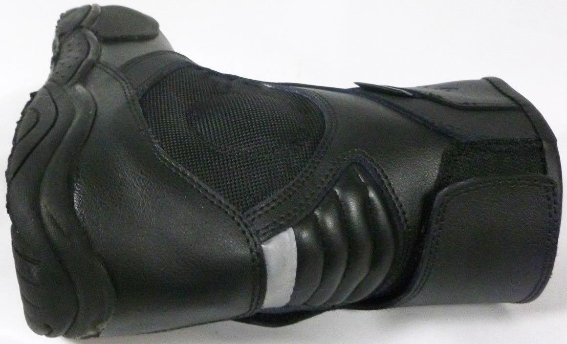 810 Motorbike Motorcycle Scooter Boots XTRM Touring Urban Rider City Boots Black