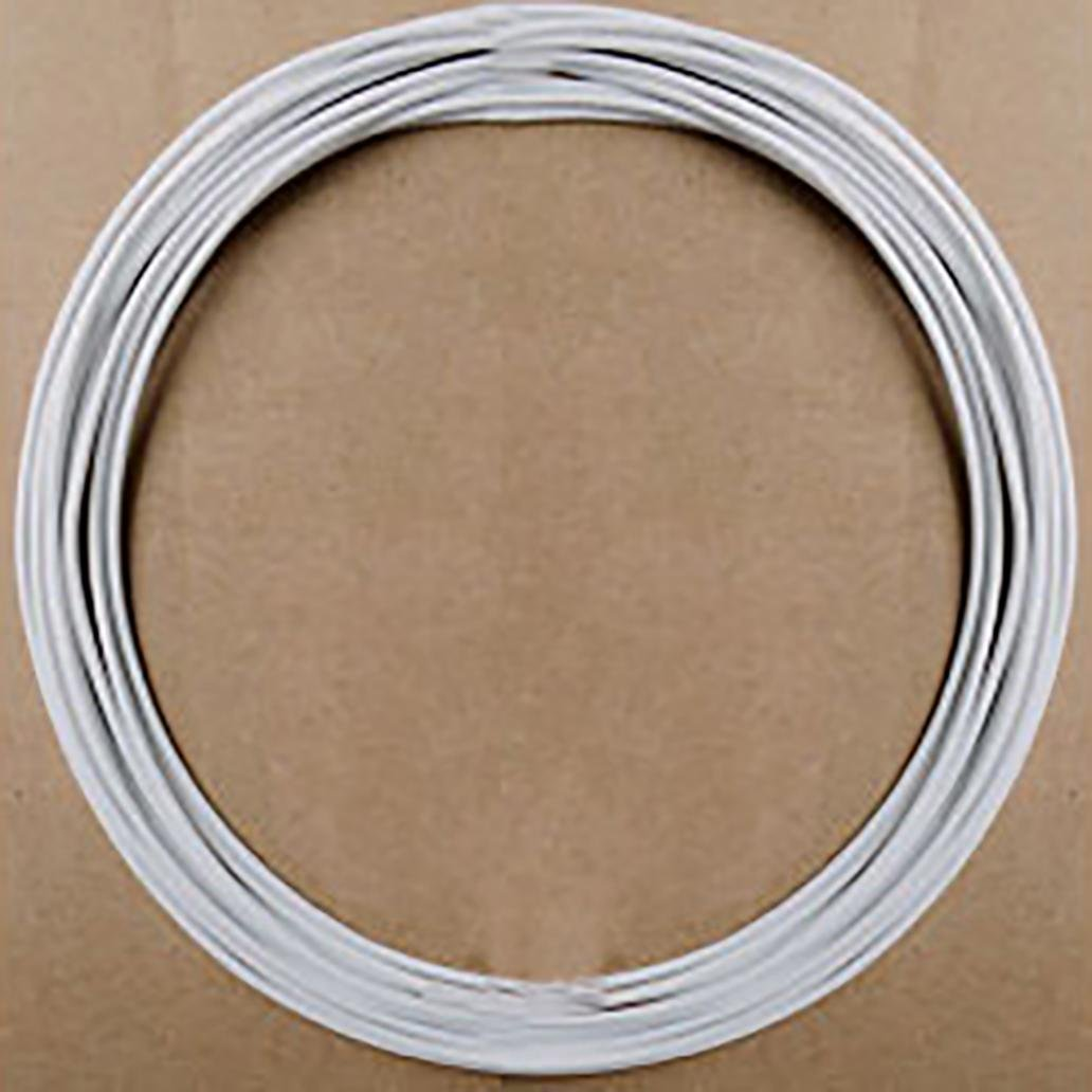 5m//16.40ft 30//28//26//24//22//20 AWG Flexible Stranded Silicone Electric Wire Cable White 30AWG