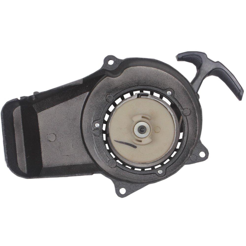 Wingsmoto Easy Pull Start Recoil Starter 47 49cc 2 Stroke Pocket Bike ATV Black