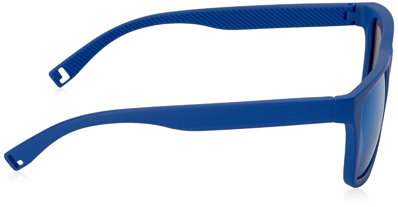 LACOSTE Men s L816S 424 54 Sunglasses, Matt Blue  Amazon.co.uk  Clothing 4c49a29aa10b