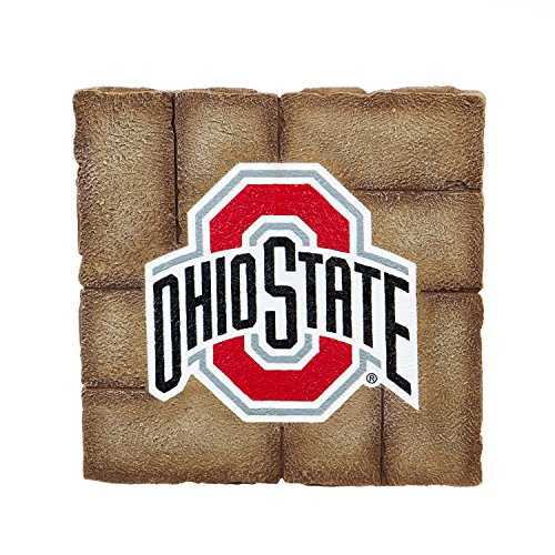 (Team Sports America Ohio State University Garden Paver Team Logo Decorative Stepping Stone)