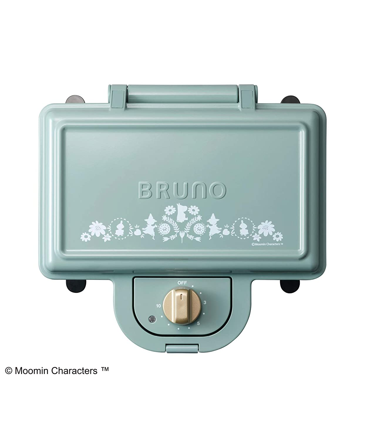 """BRUNO""""Moomin Hot Sand Maker Double"""" (Blue Gray) BOE051-BGR【Japan Domestic Genuine Products】 【Ships from Japan】"""