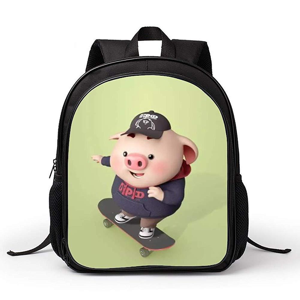 D  Sac à dos pour enfants de dessin animé de maternelle Sac à dos tendance pour enfants de 2 à 6 ans de plein air A