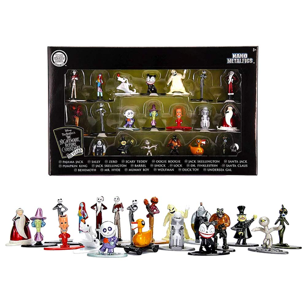 Amazon.com: Nano Metalfig Nightmare Before Christmas 25th ...