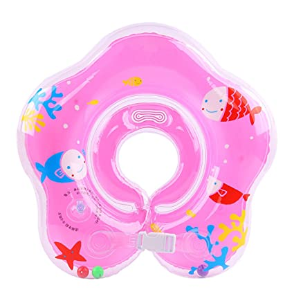 pampel por verano flotante Flotador PVC inflable Bebé Anillo de natación con correa para el hombro