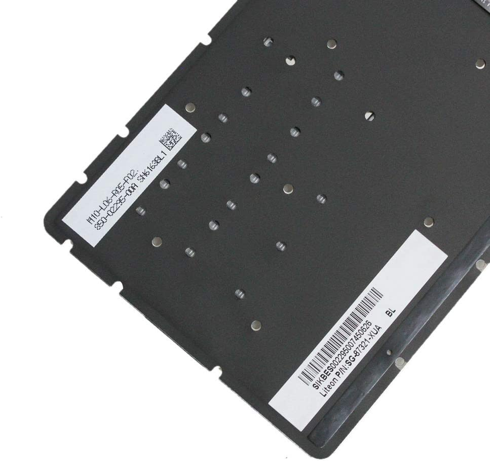 Zahara Laptop US Keyboard with Backlight Replacement for HP 15-cc593ms 15-cc610ds 15-cc611ds 15-cc Series