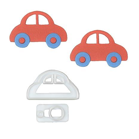 1 FMM Auto Juego de moldes de plástico | Car | Auto para Tartas | Decoración