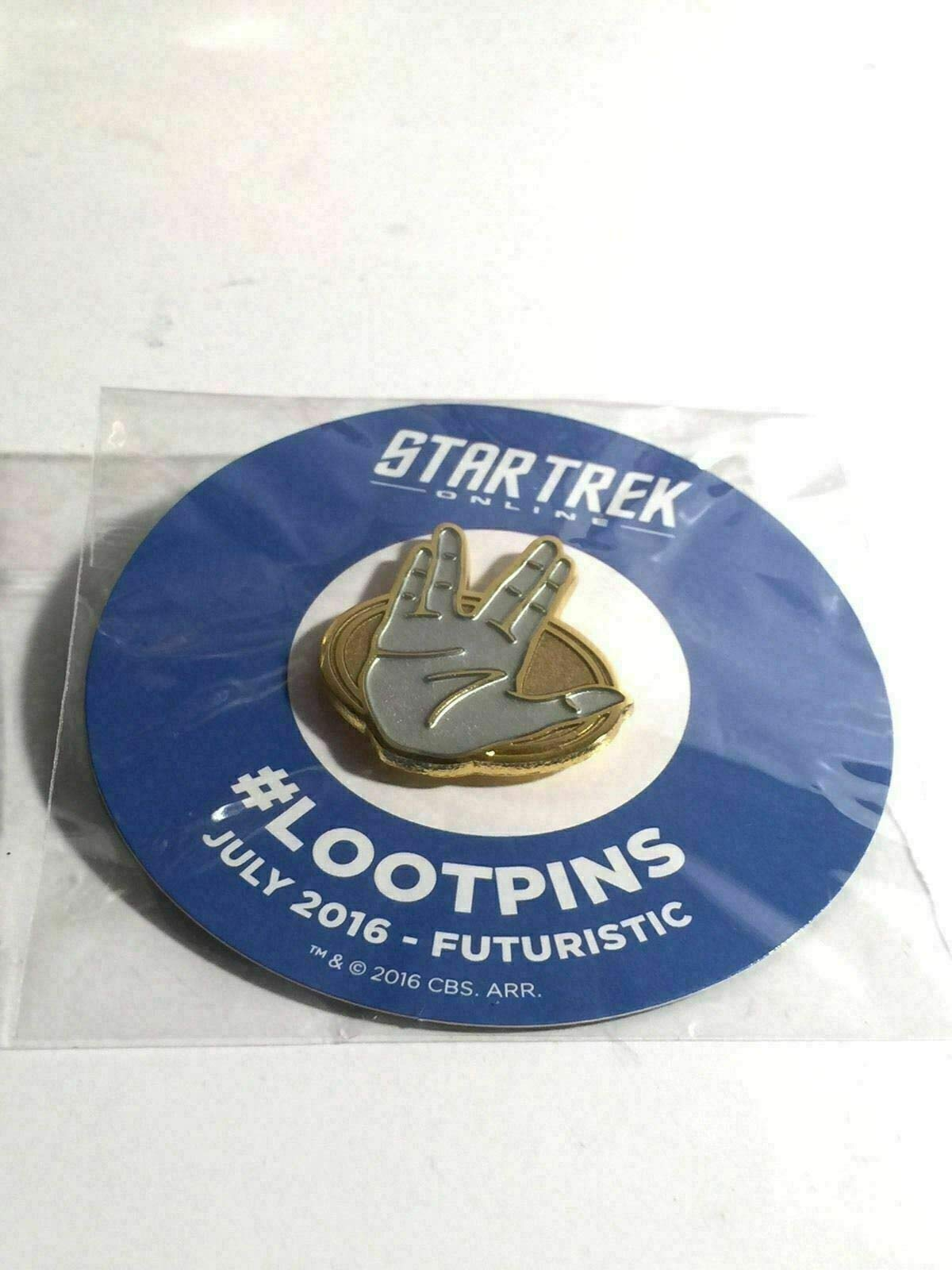 Star Trek Online Loot Crate Spock Lapel Pin Tie Tack Lootcrate Unique by Generic (Image #3)