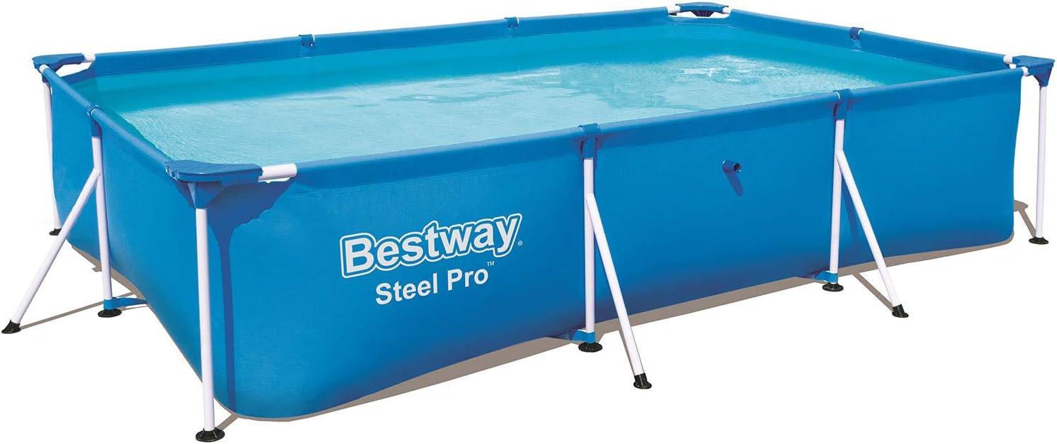 Bestway Infantil Bestway Deluxe Splash Frame Pool Piscina Desmontable Tubular, 300 x 201 x 66 cm