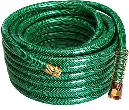Utopia Home Garden Hose 4-Ply - 50ft - Garden Hose Quick Connect - No Kink Garden Hose - Crimp Free...