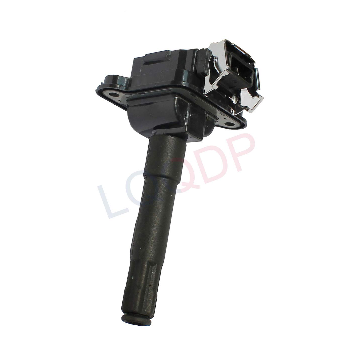 LQQDP Pack of 6 New Ignition Coil For Audi A4 A6 A8 Quattro S4 Volkswagen Passat 1.8L L4 2.7L V6 Turbo 3.7L 4.2L V8 Compatible with UF290 E704