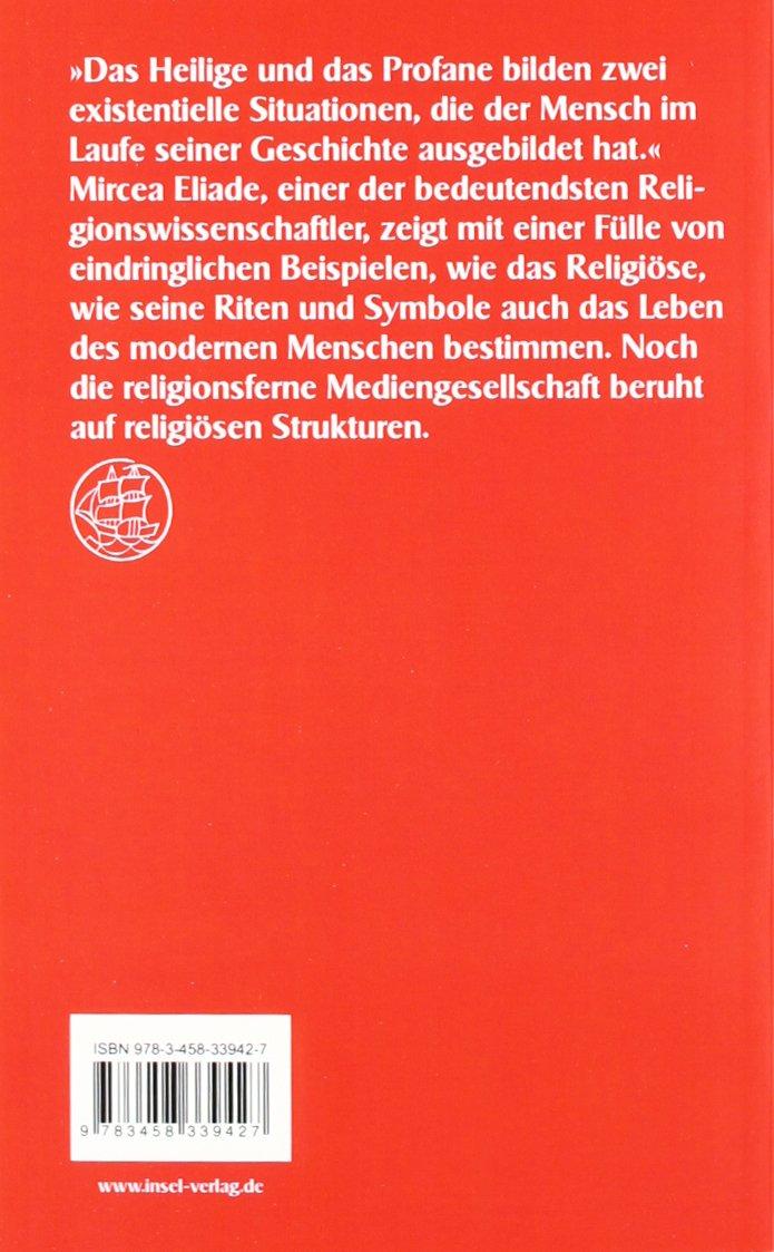 das heilige und das profane vom wesen des religisen