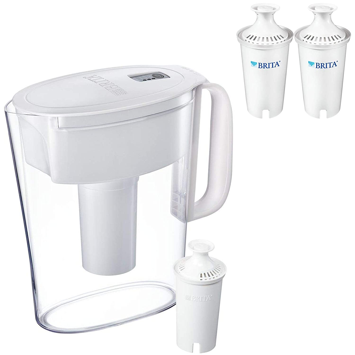 Small 5 Cup Water Filter Pitcher brita