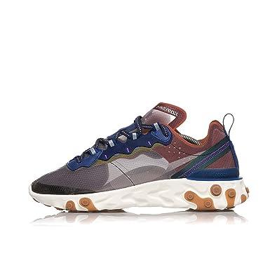 buy popular e435c 50ae0 Nike React Element 87, Chaussures d Athlétisme Homme, Multicolore (Dusty  Peach