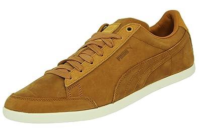 pretty nice d75e2 6d3c8 Puma CATSKILL CITI SERIES NUBUCK Chaussures Sneakers Mode Homme Cuir Suede Marron  PUMA T 46
