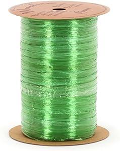 Berwick Wraphia Pearlized Rayon Craft Ribbon, 100-Yard Spool, Apple Green