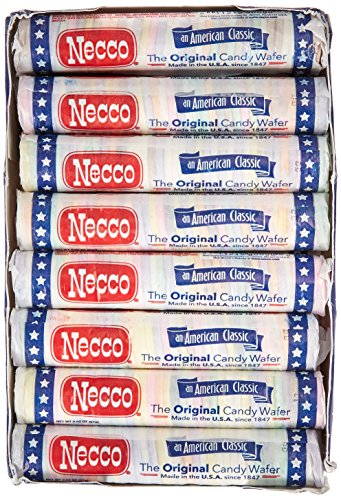 Necco Assorted Original Candy Wafers 24-2.02 oz Rolls, Net Wt 3 lbs by Necco (Image #4)