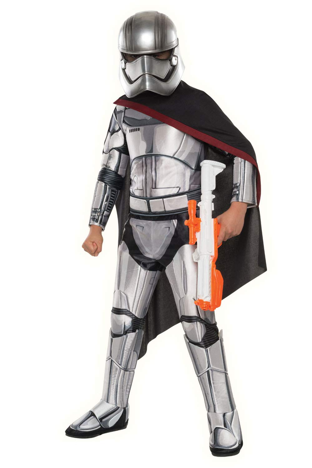 Official Disney Star Wars Captain Phasma Kids Costume Dress Up Outfit 11-12 Yrs