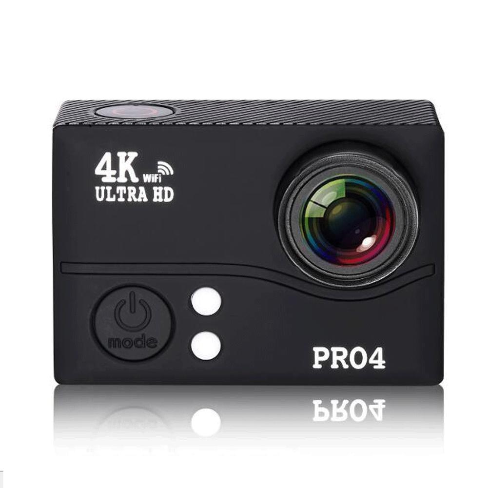 Movimiento cámara 4 K HD Motion cámara Wi-Fi App remoto HD visión, color amarillo: Amazon.es: Deportes y aire libre