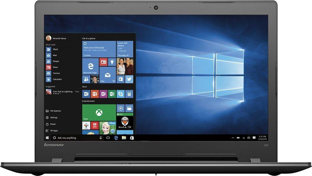 Lenovo 17.3 Inch HD+ Flagship High Performance Black Edition Laptop PC| Intel Core i5-6200U Dual-Core| 2.30 GHz| 8GB DDR3| 1TB HDD| DVD RW| WIFI| Bluetooth| Windows 10
