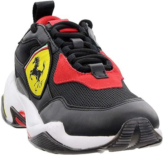 Puma Scuderia Ferrari Thunder Herren Schnür Sneakers Freizeit Sneaker Amazon De Schuhe Handtaschen