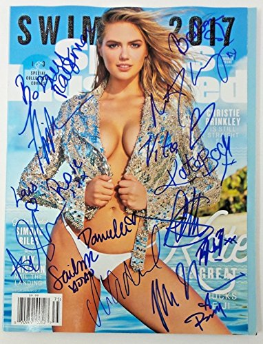 Aly Raisman Ashley Graham Nina Agdal 2017 Sports Illustrated Swimsuit Mag  Jsa 3
