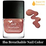 Iba Halal Care Breathable Nail Color, B24 Rose Gold, 9ml