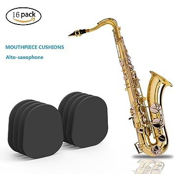 8x 0,5 mm Sopran Saxophon Sax Mundstück Patches Pad Kissen ZP