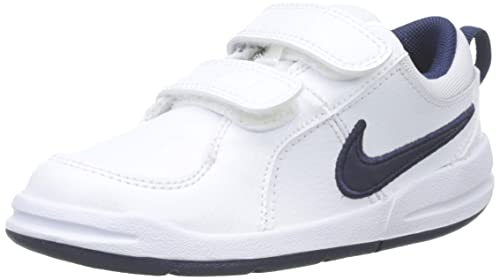 new arrivals 62fb6 a3d2d Nike Pico 4 (TDV) Pantofole Unisex-Bimbi, Bianco (White Midnight