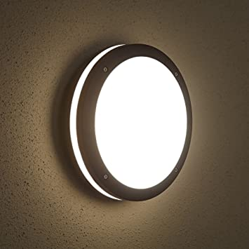 Biard e27 round outdoor bulkhead wall security light modern garden biard e27 round outdoor bulkhead wall security light modern garden lamp ip54 mozeypictures Image collections