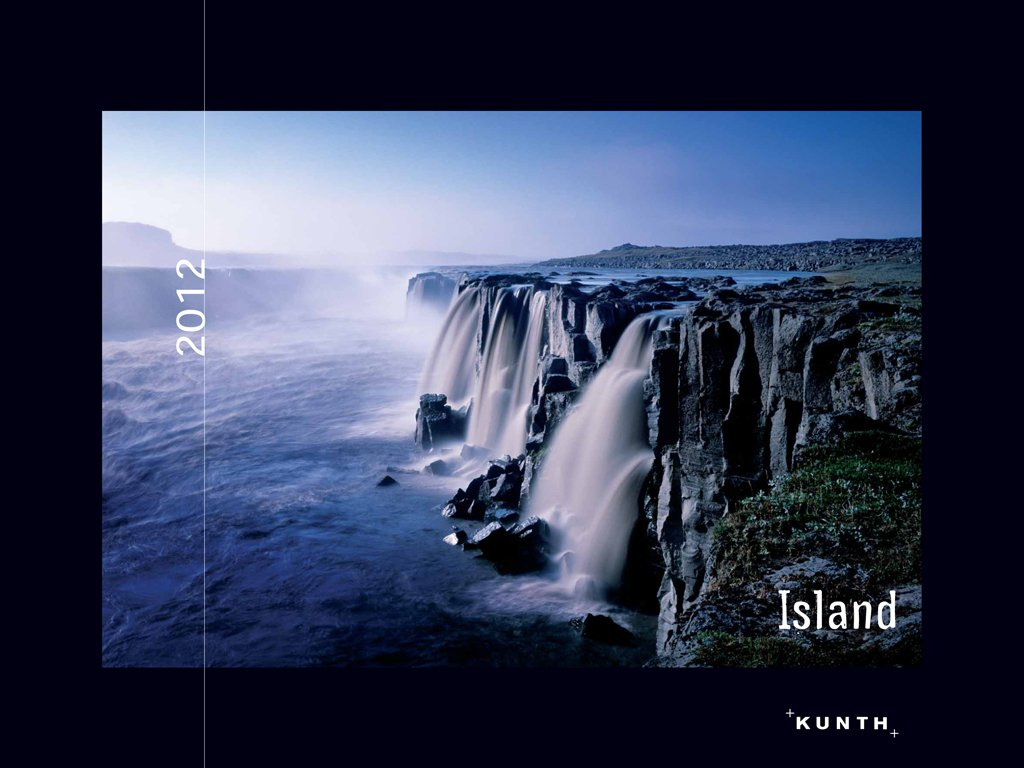 KUNTH Kalender Island 2012