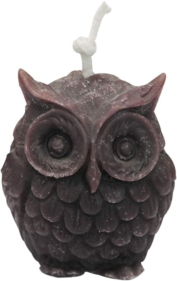 3D Owl Bird Candle Molds Soap Mold DIY Craft Wax Resin Mould Food Grade Silicone Medium Size
