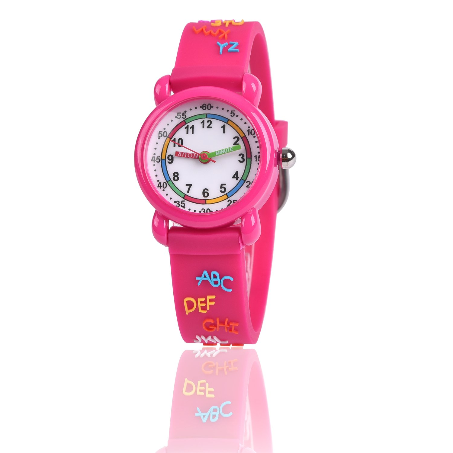 Gifts for 3-10 Year Old Girls Boy, 3D Kids Watch Toy for 4-11 Year ...