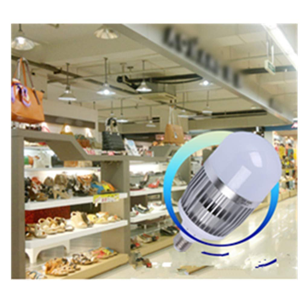 LED Bulb Warm White E14 Small Screw E27 Home Lighting Super Bright Energy-Saving Led Corn Bulb Thick Aluminum Material Standard