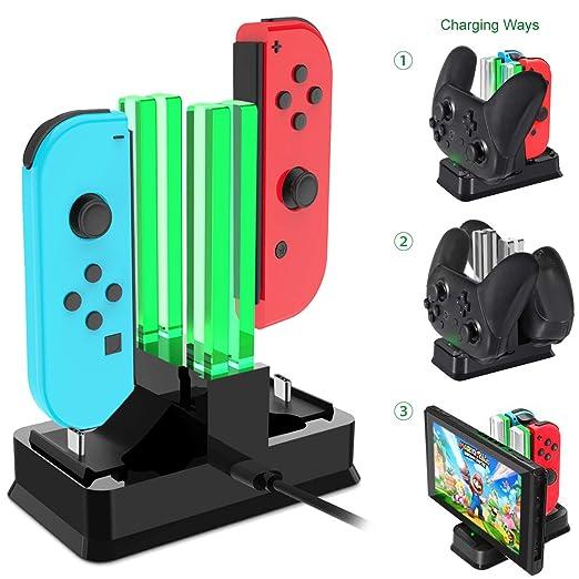 Onedream Carga Compatible para Nintendo Switch, Base de ...