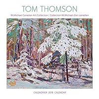 Tom Thomson 2018 Wall Calendar / Tom Thomson Calendrier Mural 2018