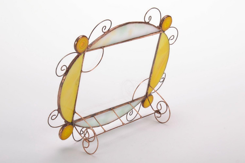 Amazon.de: Buntglas-Bilderrahmen für Fotos, im Tiffany-Technik