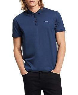 Calvin Klein - Polo de algodón líquido para Hombre  Amazon.com.mx ... ee4e885f2af89