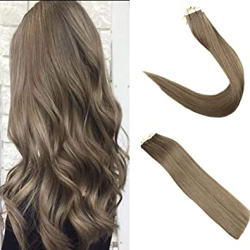 Amazon Com Easyouth 24 Double Side Tape In Hair Extensions