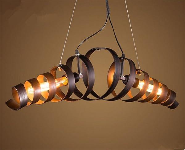 Good Retro Industry Design Pendelleuchte Im Loft Style, Esszimmer Vintage Retro  Hängeleuchte Lampe,Wohnzimmer