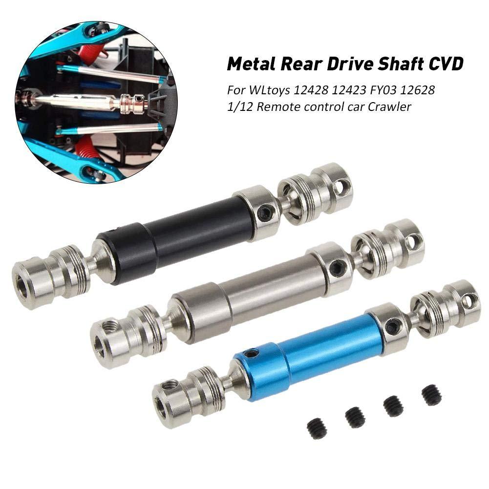 L/â Vestmon Metall Upgrade Universal Antriebswelle 80mm-105mm f/ür WLtoys 12428 12423 FY03 12628 1//12 RC Car Crawler